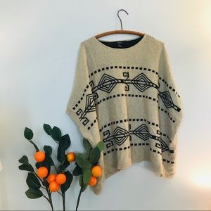 Forever21 Aztec poncho